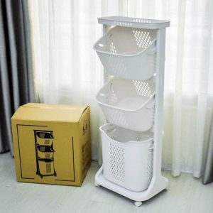 Kệ plastic 3 tầng cao cấp